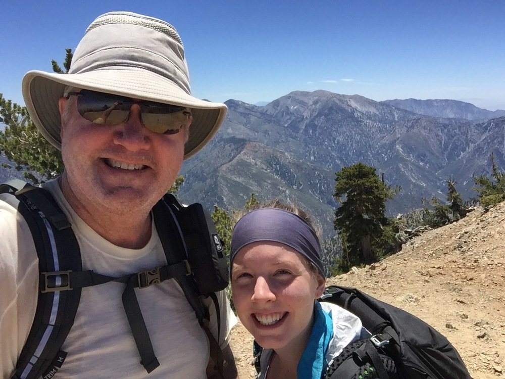 The required summit shot on Mt. Baden-Powell.