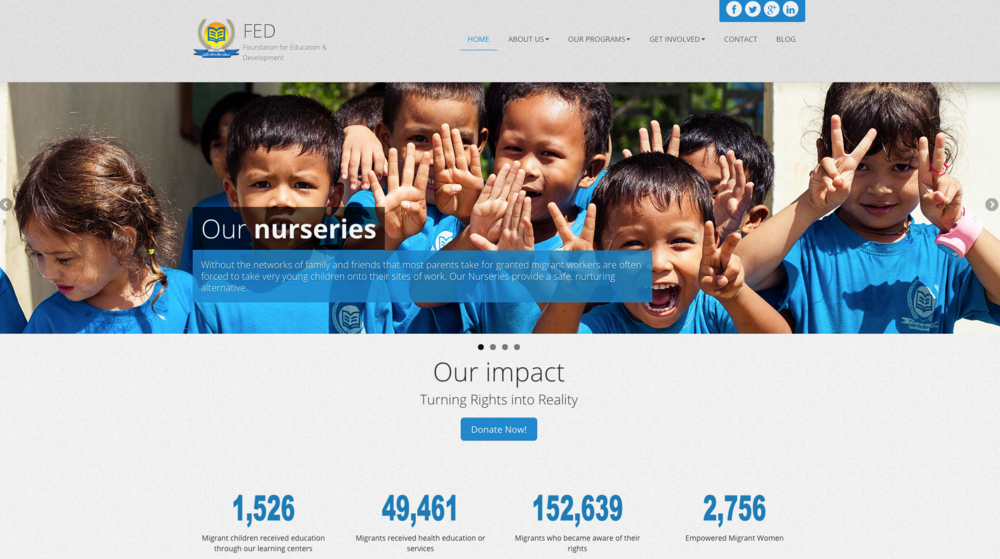 Foundation for Education and Development, Thailand