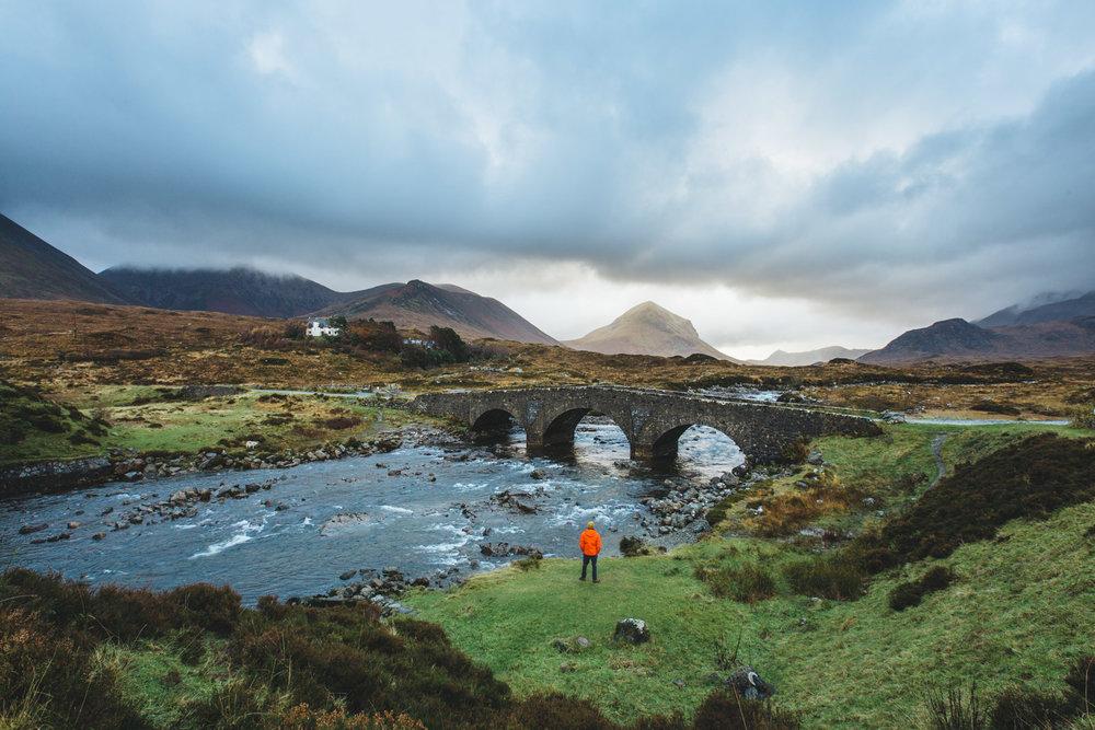 Sligachan Landscape, Scotland
