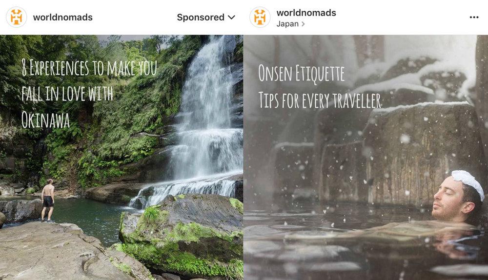 World Nomads Instagram Campaign, Japan
