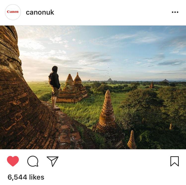Canon Instagram Campaign, UK