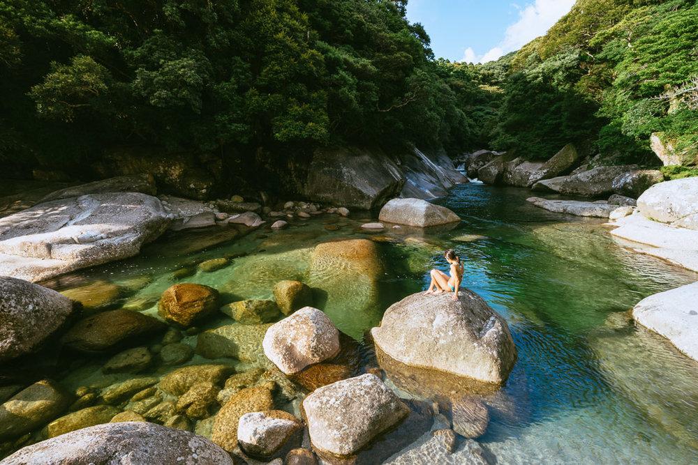 Living in the moment, Yoggo Valley, Yakushima