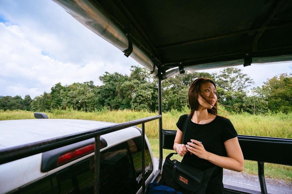 On Safari, Khao Yai National Park