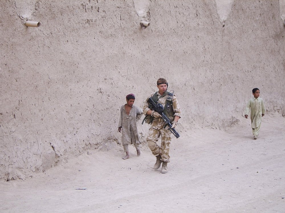 A 19 year old me on tour in Afghanistan, 2006.