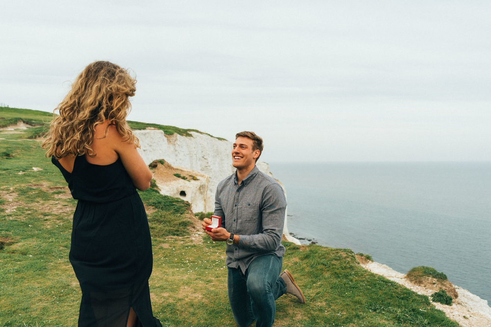 Surprise Proposal Photography by Sam Spicer