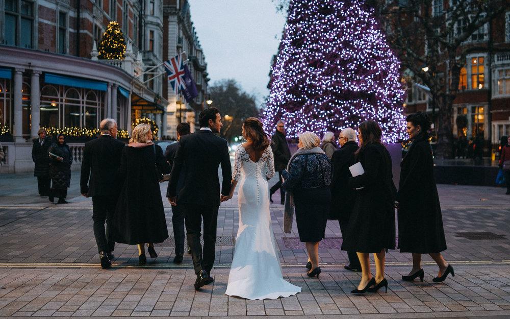 Connaught Hotel Wedding, London