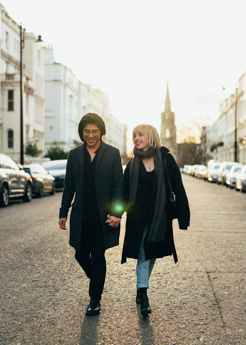 London Couples Portrait Photographer in Notting Hill