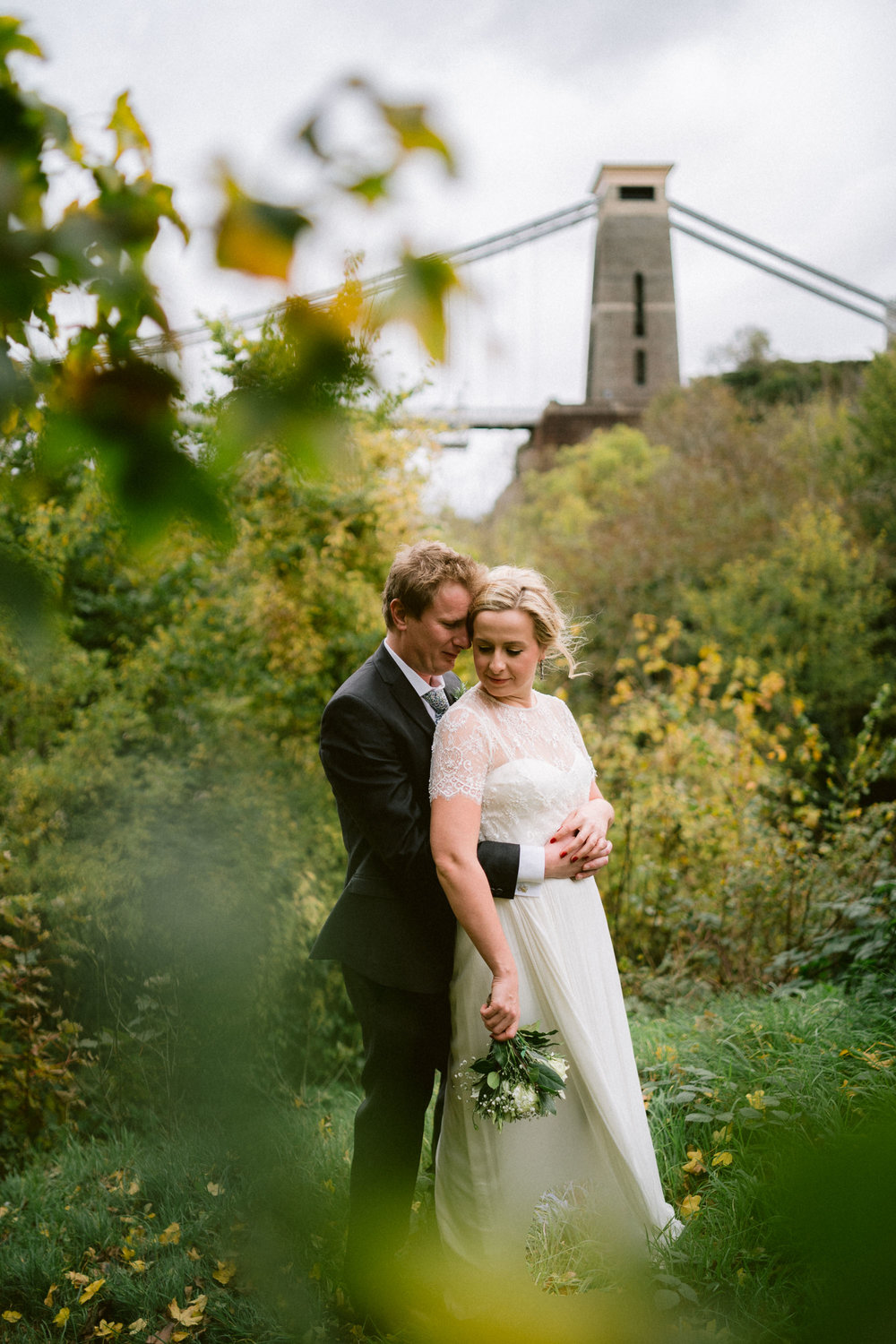 Clifton suspension Bridge, Bristol Wedding