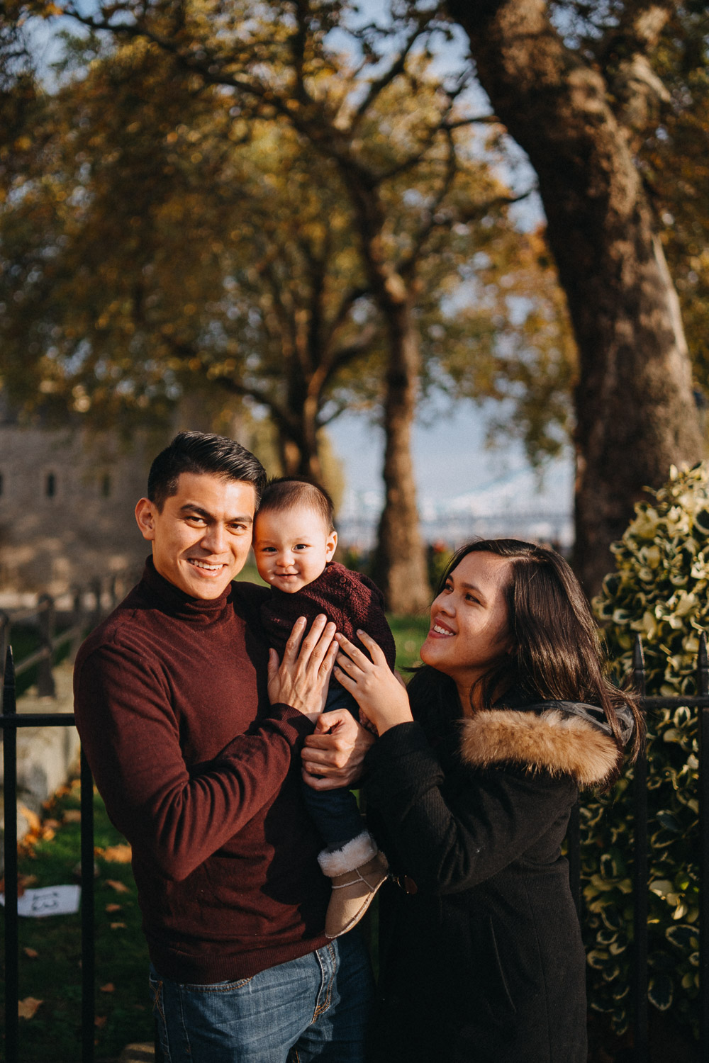 Family Portrait Photography in Tower Hill, London