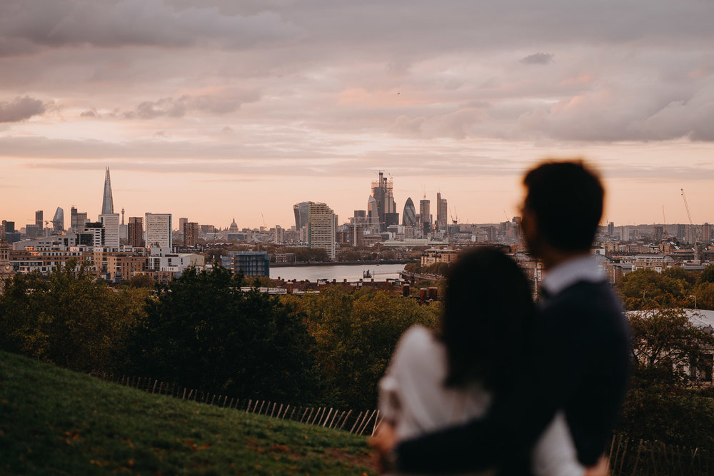 Engagement Photoshoot in Greenwich, London