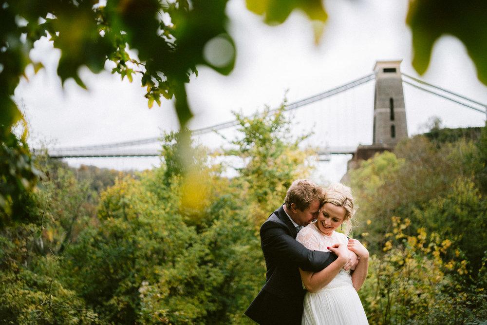 Bristol Wedding Photographer - Clifton Suspension Bridge