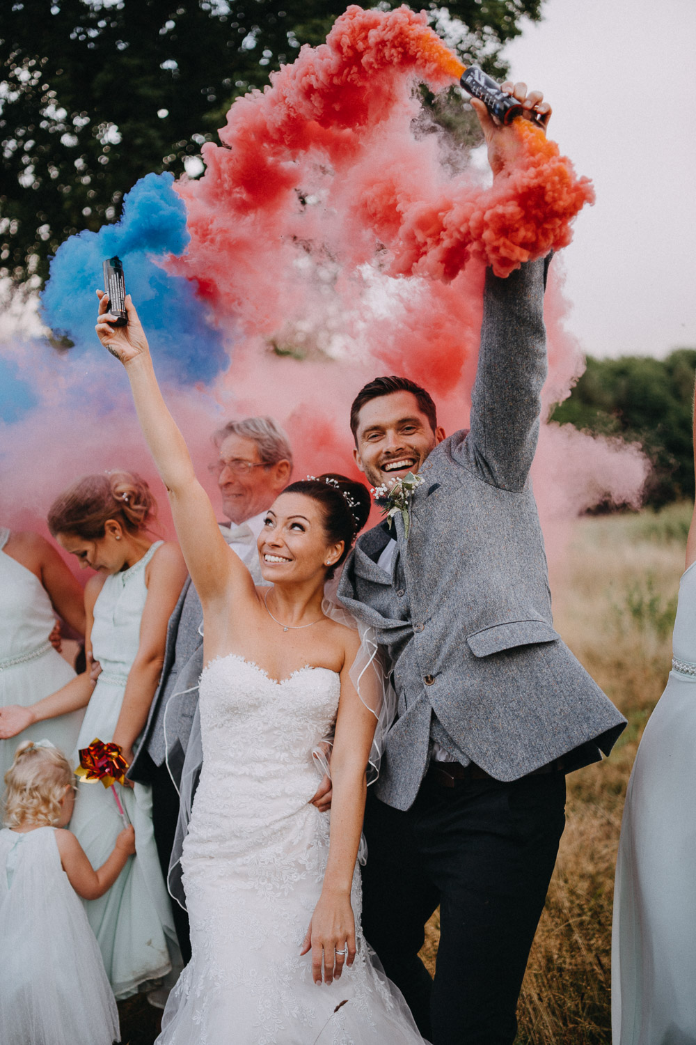 fun and quirky Wedding photography in Kent