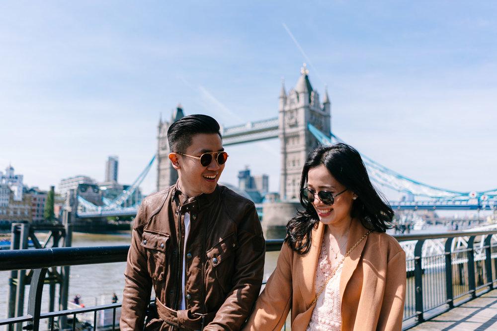 Couples portrait photographer in London