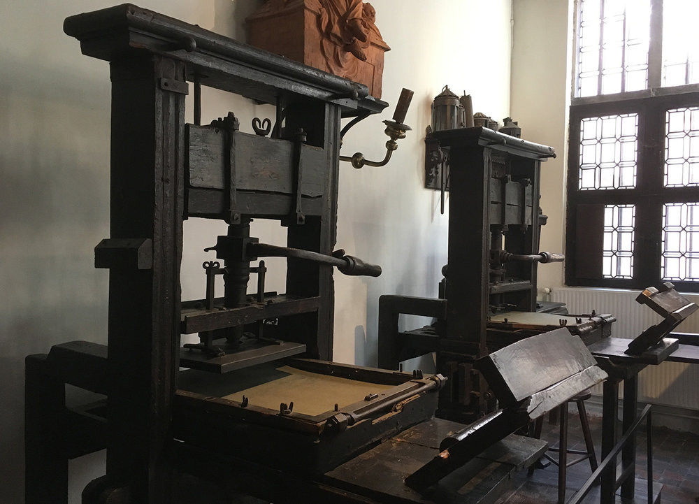 The oldest presses in the world. Still looking good too.