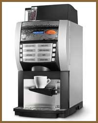 NECTA KORINTO BEAN TO CUP  High capacity for high production  Korinto  is aimed at the HoReCa(Hotel, Restaurant and Café) market Restaurant and Café) market, complementing Necta's range with its multi-drink dispenser solutions.