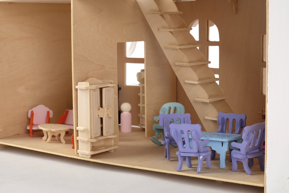 Dollhouse and Furniture