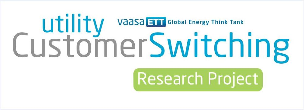 Utility Customer Switching Research Project