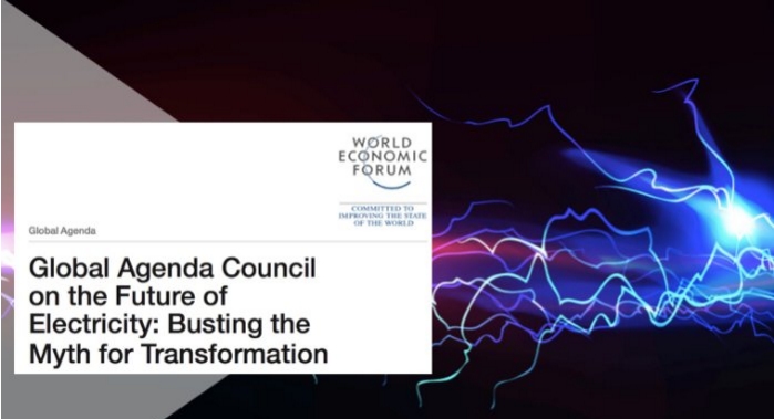 World Economic Forum Electricity Council Predictions for 2030