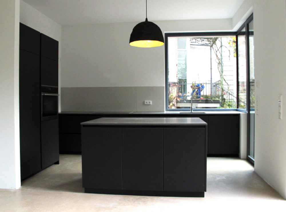 linoleum k che solo m bel raum objekt. Black Bedroom Furniture Sets. Home Design Ideas