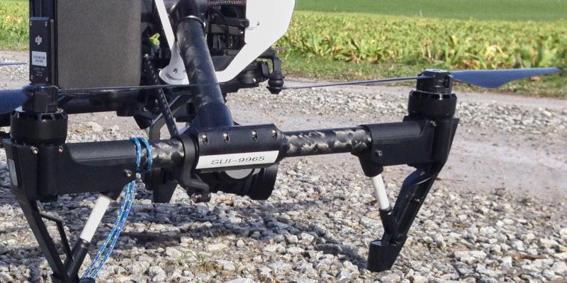 Bild: BAZL Registrierung SUI-9965 an Drohne der Firma FLUG-BILD.CH