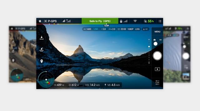 Resultado de imagen para dji go app