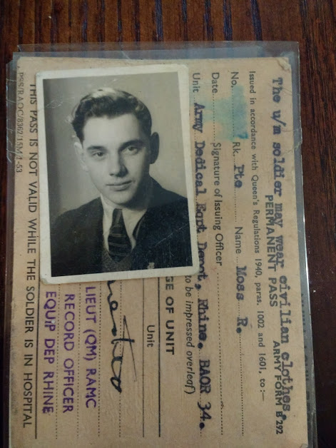 Ray's National Service Card