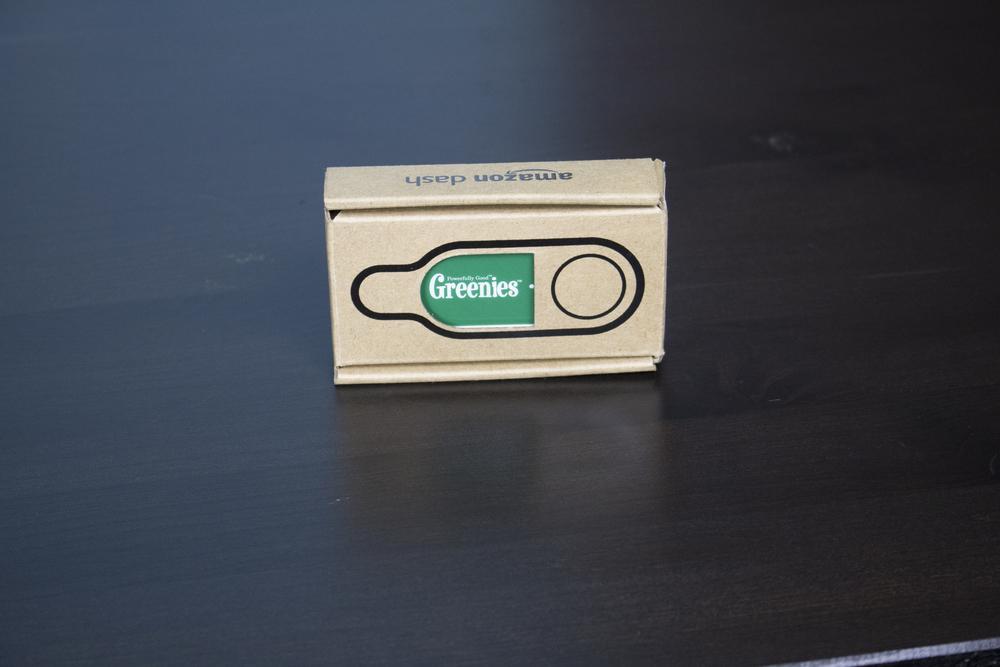 Amazon Dash Button - Greenie