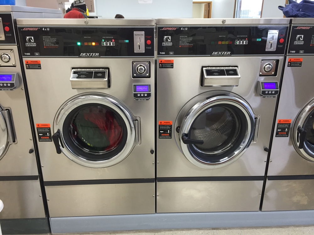 40LB WASHERS - CREDIT CARD CAPABLE