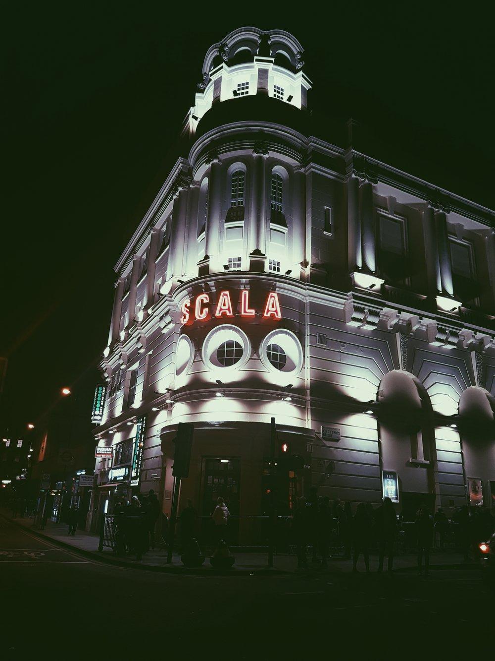 The luminescent Scala.