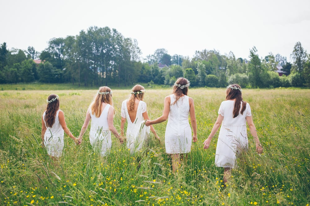 Bröllopsberättelse: Somrigt lantbröllop