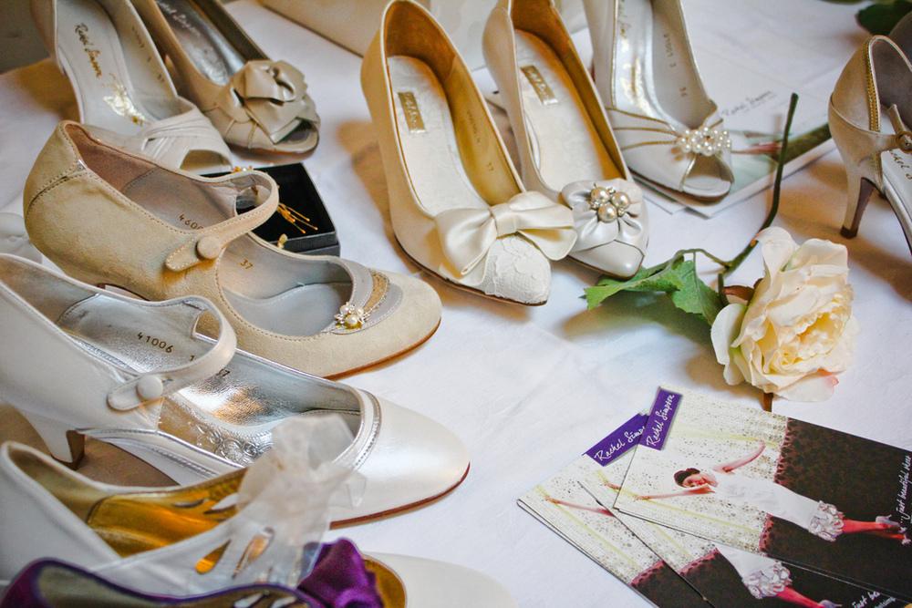 Dekorationsinspiration till vintagebröllop