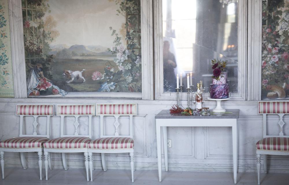 Bröllopstårta från Liv Sandberg