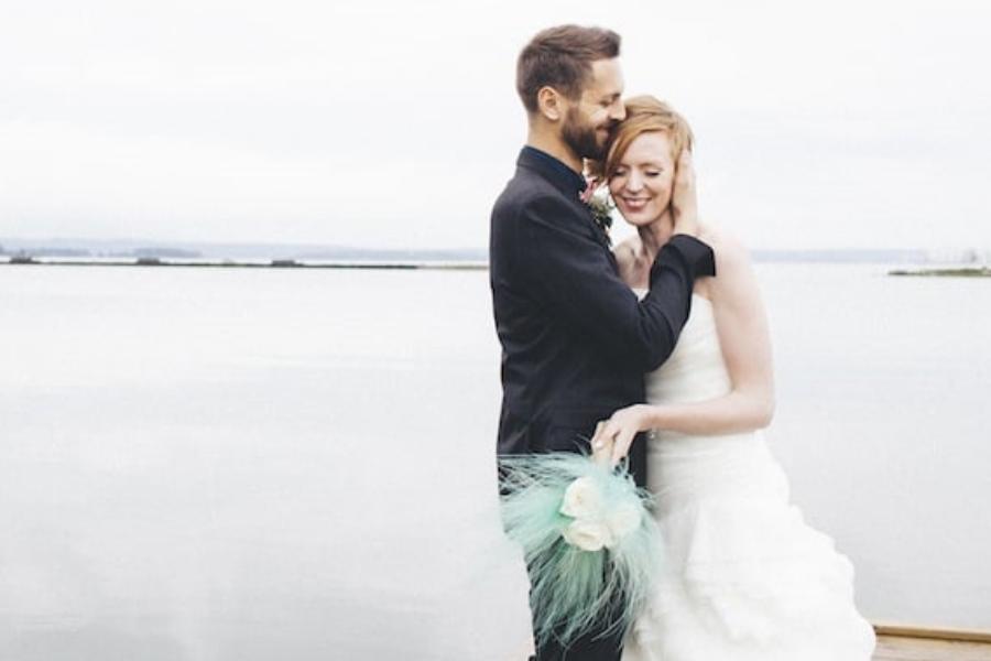 Majbröllops på Abborrebergs Veranda: Ann-Christine och Oscar
