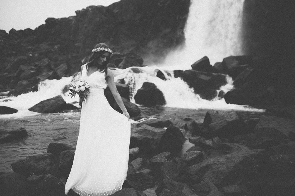 Bröllopsfotografering på Island