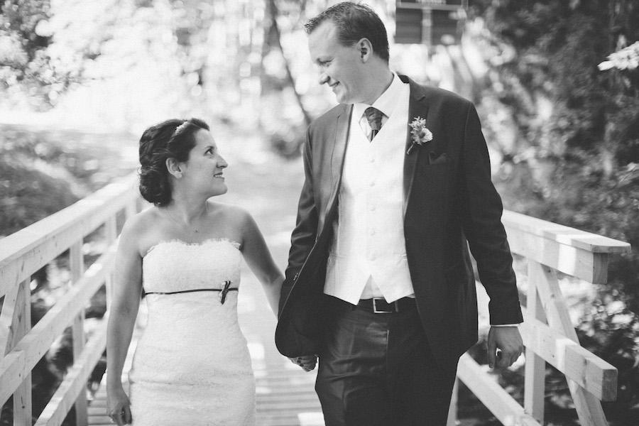 Svensk-Amerikanskt bröllop i Stockholms-idyll: Talia och Olof