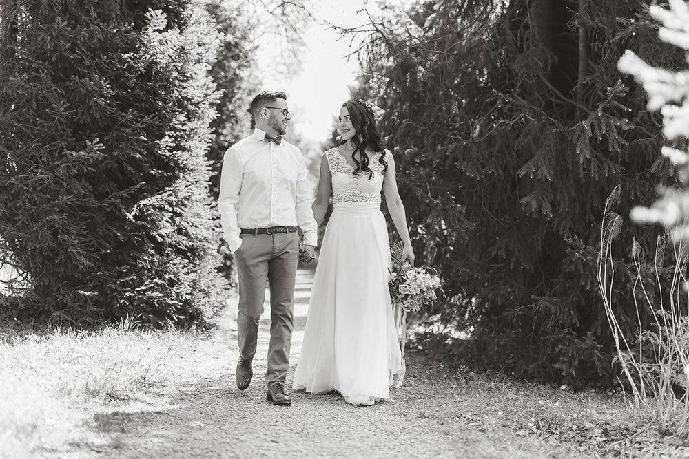 Romantisk fotografering på Tyresö Slott - del 2