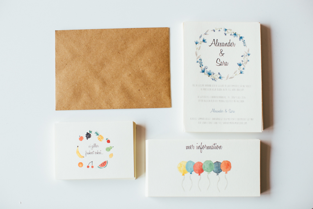 DIY: Sara Holmberg tipsar om hur man gör sina egna bröllopsinbjudningar