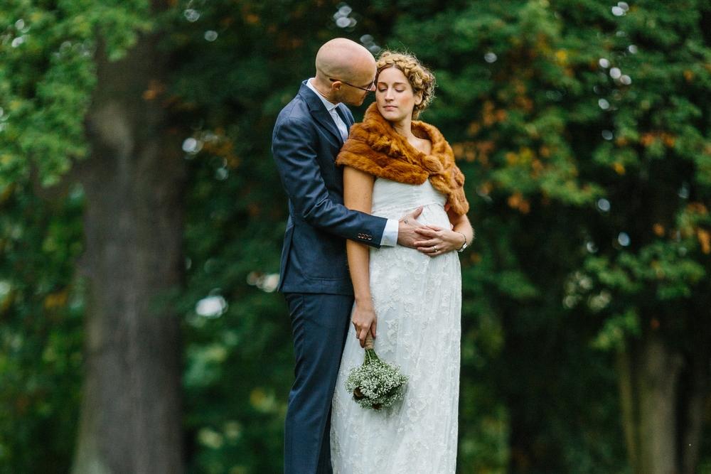 Bohemiskt höstbröllop i Hagaparken