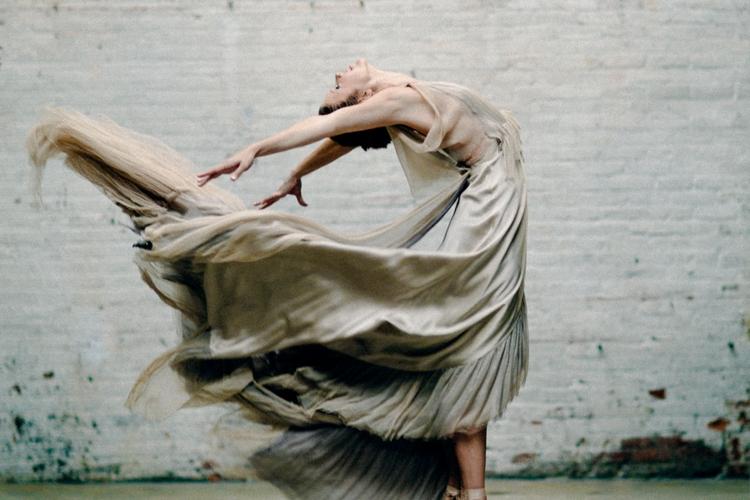 Konstnärlig bröllopsinspiration med balettema