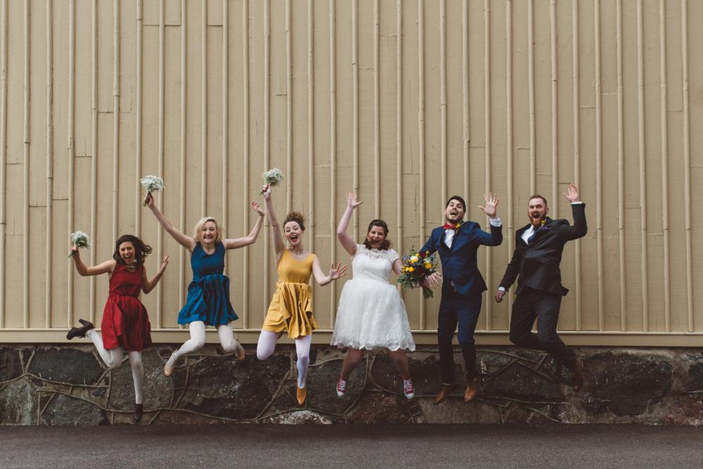 Färgglatt+bröllop