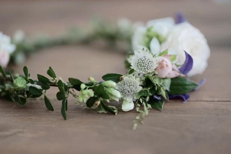 DIY: Blomsterkrans med Josefin Wikholm