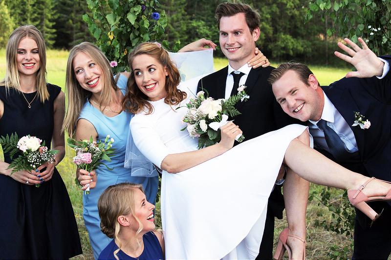 Throwback: Elinor och Johans bröllop