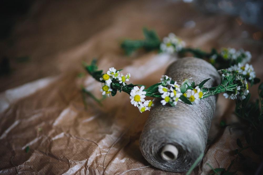 blomsterkrans+diy