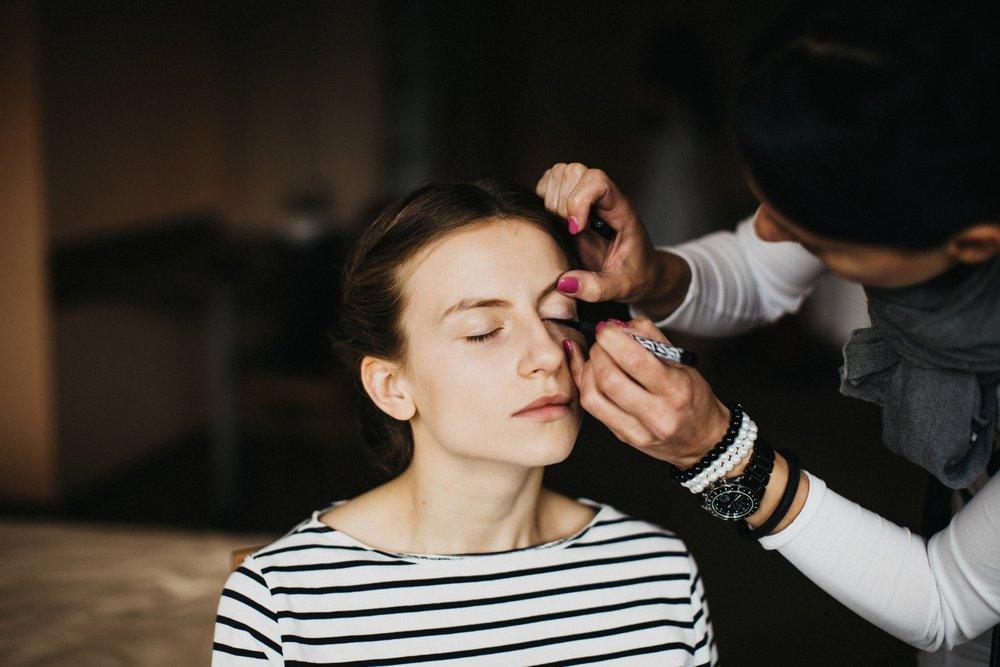 makeup+wedding