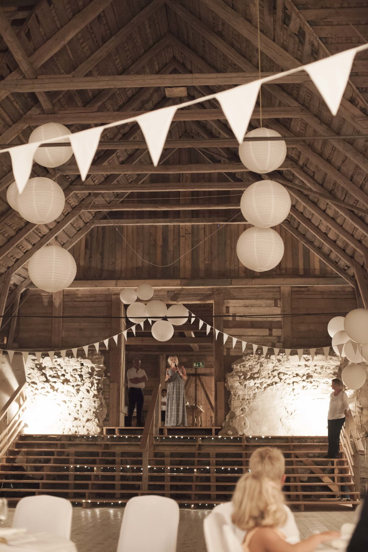 Lantlig bröllopslokal