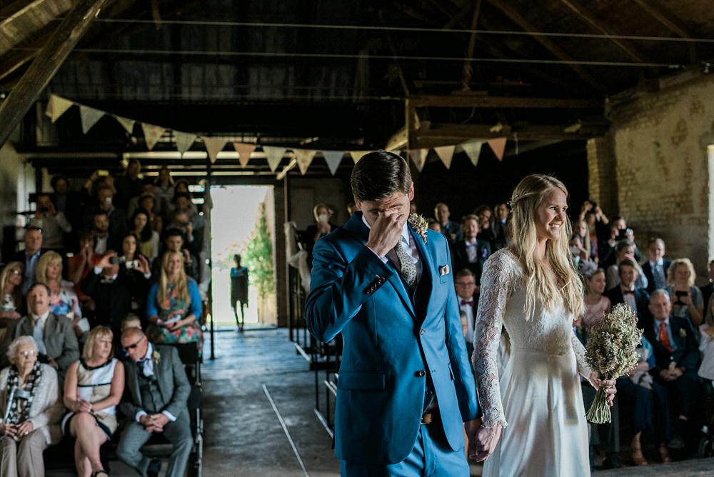 Bohemiskt bröllop i rusik lada