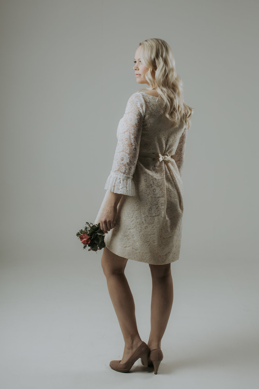 gravidklänning bröllop