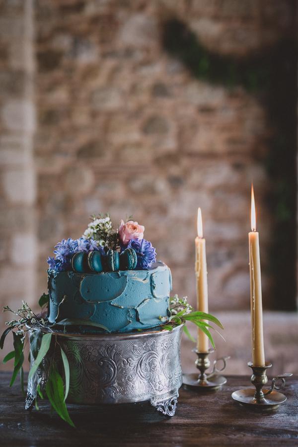 Bröllopstårta Macarons