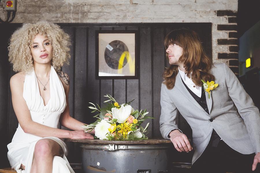 otraditionellt bröllop