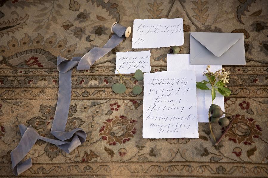 Trycksaker kalligrafi